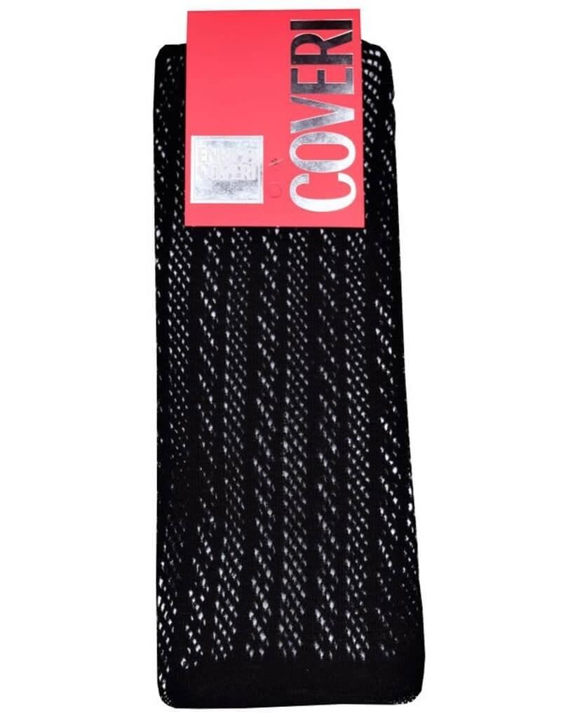 c519b75730a Enrico Coveri μαύρες maxi μακριές πλεκτές γυναικείες κάλτσες Nancy1
