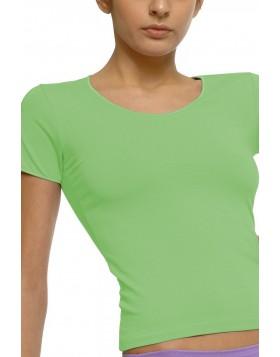 Helios βαμβακερή κοντομάνικη μπλούζα 80729