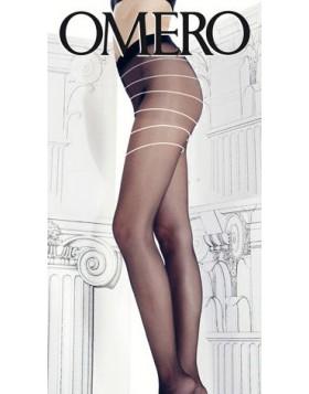 Omero μαύρο καλσόν Comfortissimo 20 den με αόρατη σύσφιξη κωδ.112593