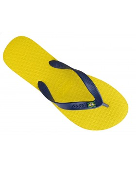 Dupé σαγιονάρες κίτρινες BRASIL 413