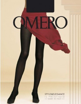 Omero ματ μαύρο αδιάφανο (opaque) καλσόν Iride 100 den κωδ. 112859