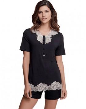 lormar-gynaikeia-kalokairini-pyjama-65660p-themooncat-black