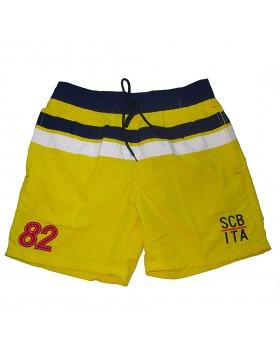 Scuba κίτρινο αντρικό μαγιό-σορτς 828317