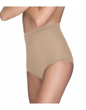 Ψηλόμεσο shapewear αόρατο σλιπ από τούλι Omero SO1014