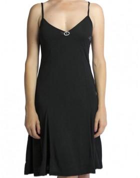 Mae βισκόζ μαύρο φορεματάκι Μ110